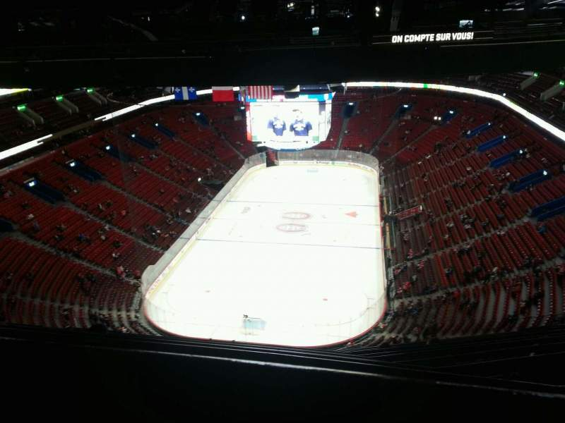 Seating view for Centre Bell Section 409 Row a Seat 13