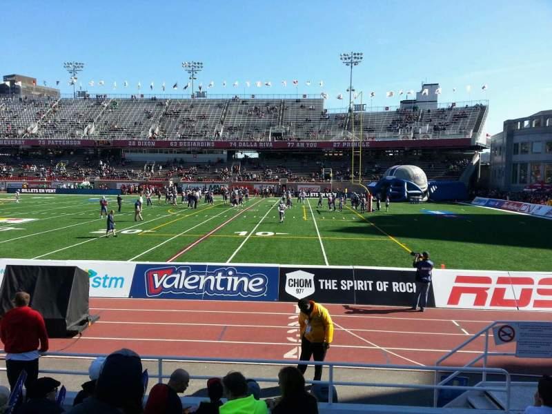 Percival Molson Memorial Stadium, section: c1, row: 6, seat: 14