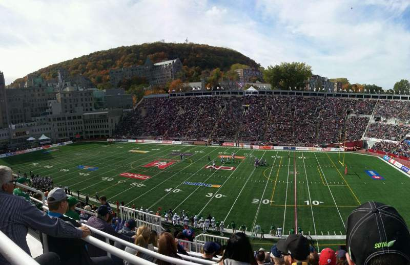 Seating view for Percival Molson Memorial Stadium Section s2 Row 10 Seat 10