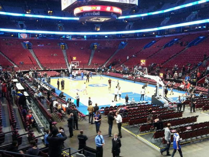 Seating view for Centre Bell Section 121 Row f Seat 4