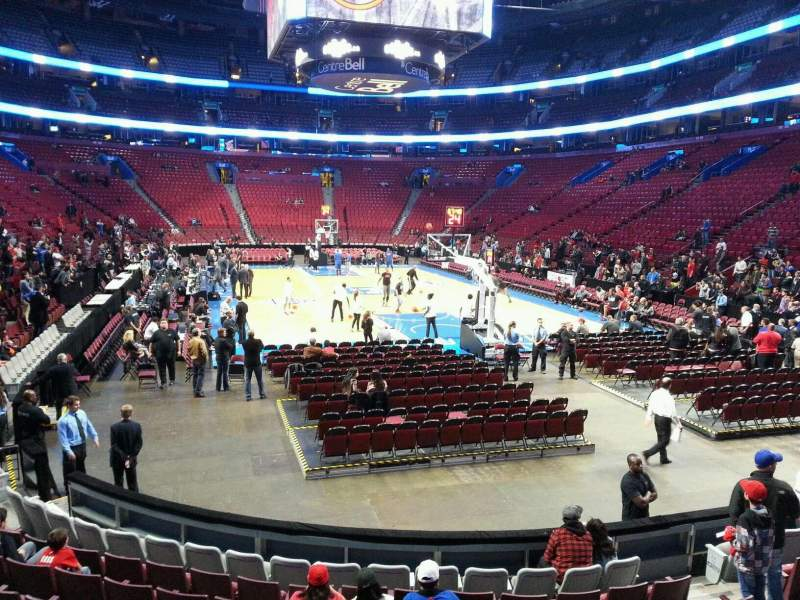 Seating view for Centre Bell Section 120 Row d Seat 8