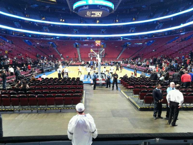 Seating view for Centre Bell Section 119 Row ee Seat 10