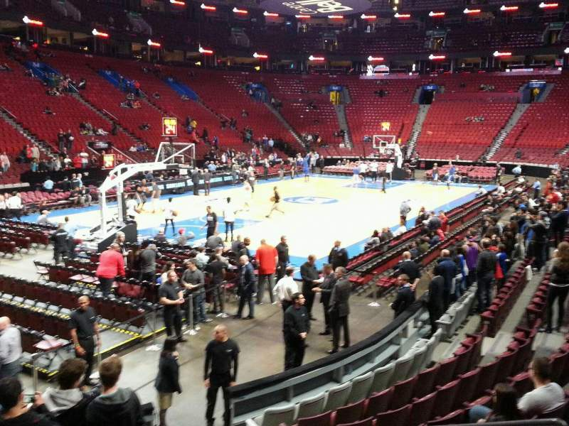 Seating view for Centre Bell Section 117 Row d Seat 6