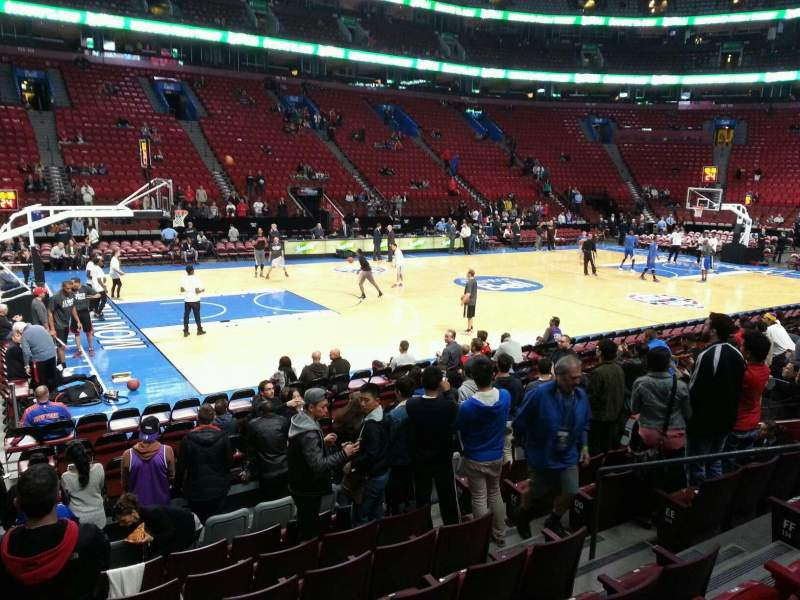 Seating view for Centre Bell Section 115 Row c Seat 7