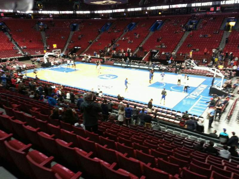 Seating view for Centre Bell Section 111 Row L Seat 5