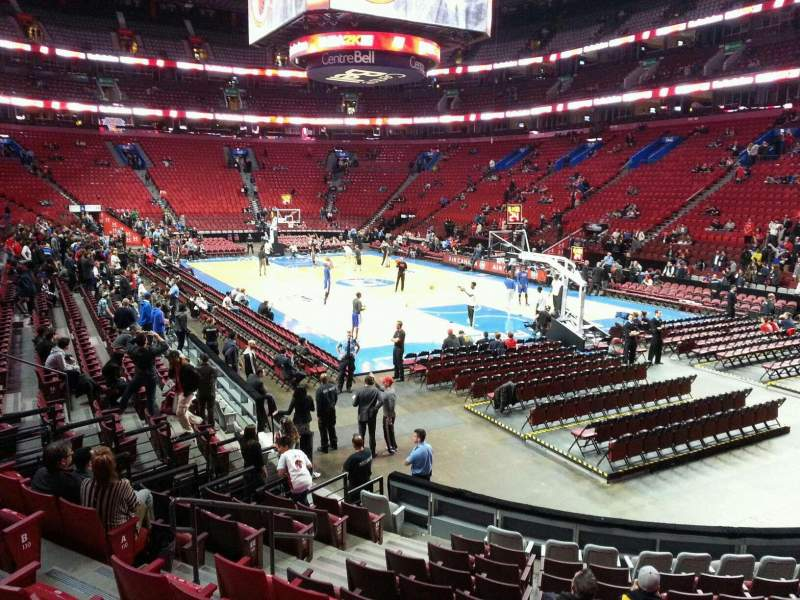 Seating view for Centre Bell Section 109 Row f Seat 7