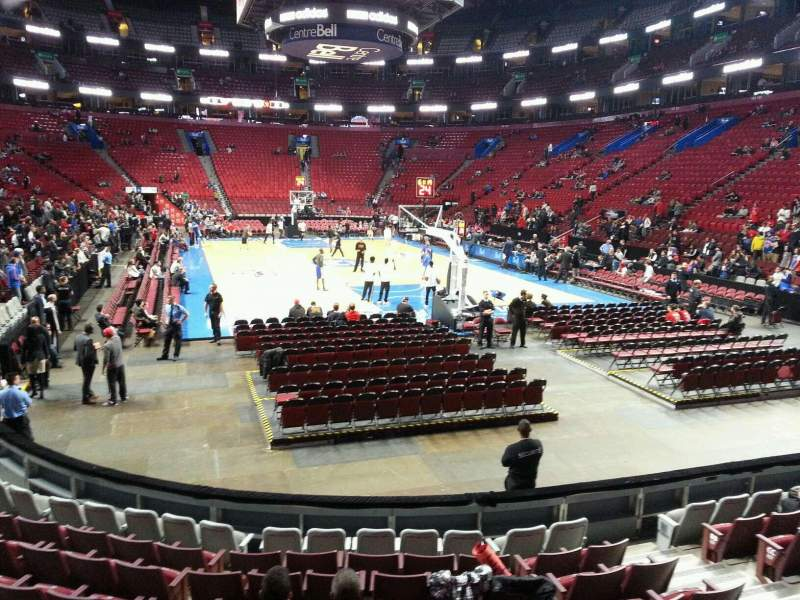 Seating view for Centre Bell Section 108 Row d Seat 7