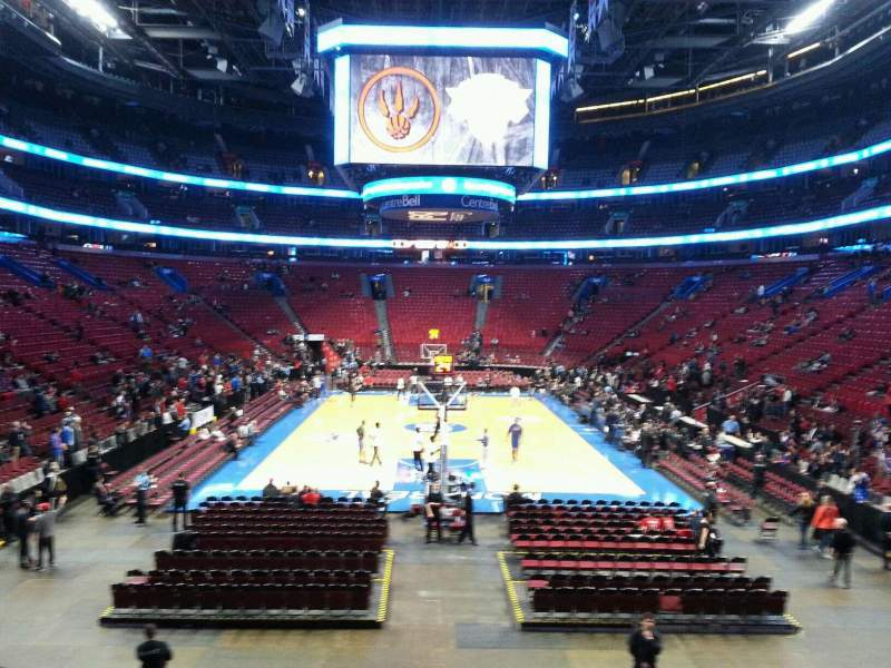 Seating view for Centre Bell Section 107 Row j Seat 12