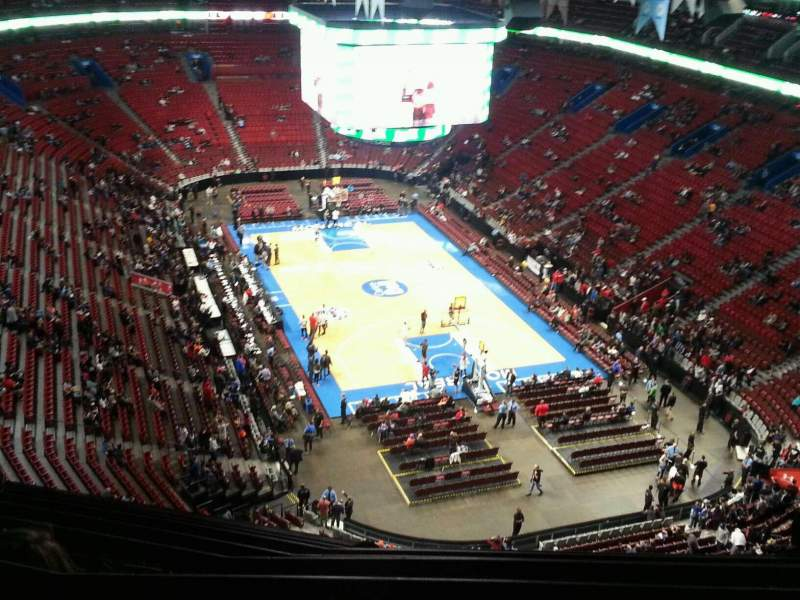 Seating view for Centre Bell Section 330 Row c Seat 10