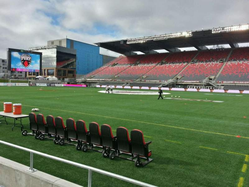 td place stadium section q row 3 seat 7 ottawa fury vs indy eleven shared by frank. Black Bedroom Furniture Sets. Home Design Ideas