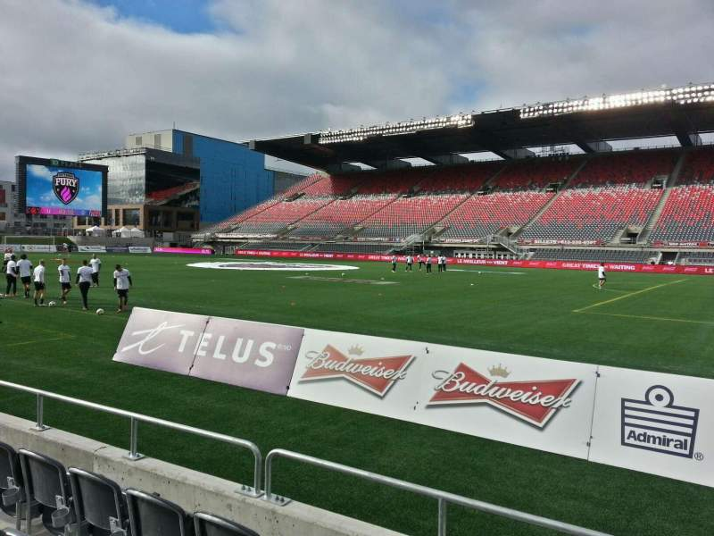 Seating view for TD Place Stadium Section p Row 4 Seat 3