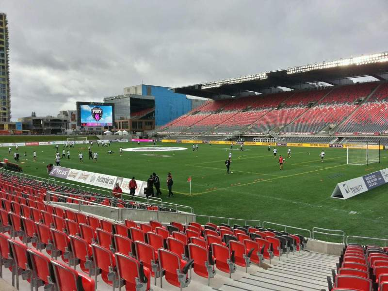 Seating view for TD Place Stadium Section l Row 16 Seat 17