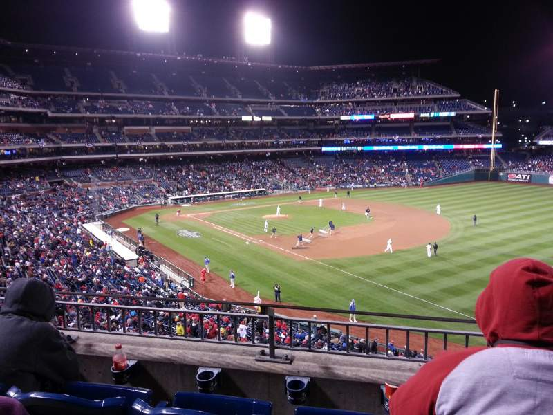 Seating view for Citizens Bank Park Section 209 Row 3 Seat 12