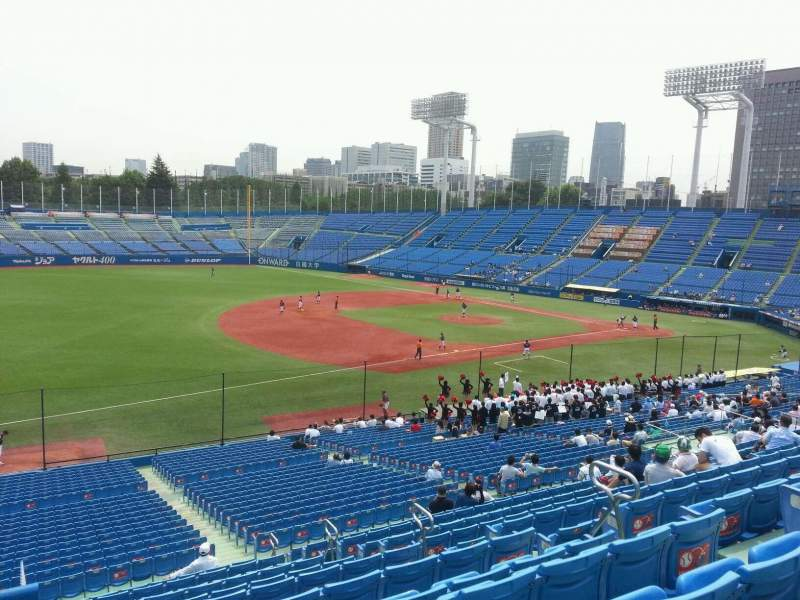 Seating view for Jingu Stadium Section 12 Row 41 Seat 175