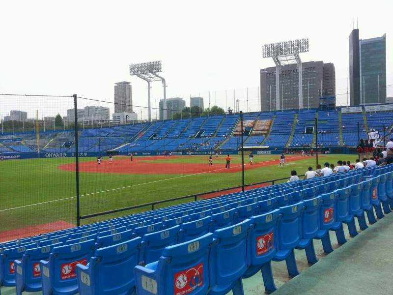 Seating view for Jingu Stadium Section 12 Row 14 Seat 182