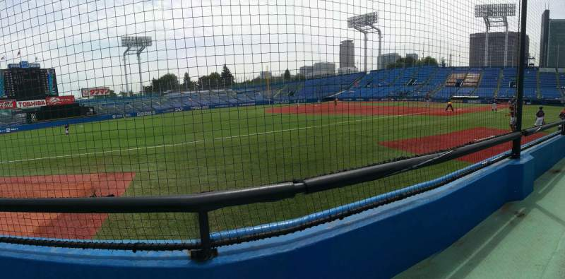 Seating view for Jingu Stadium Section 12 Row 3 Seat 167