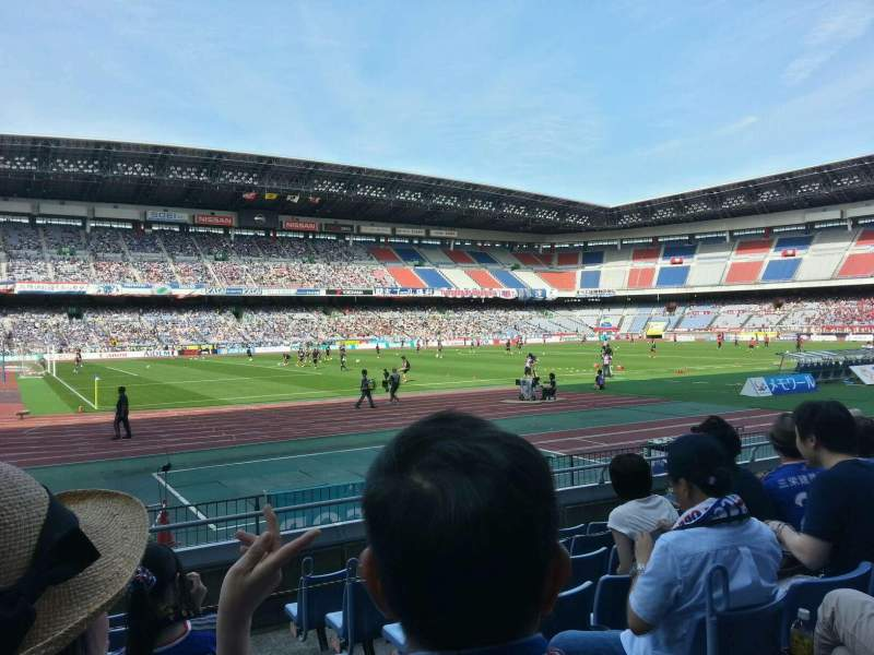 Seating view for Nissan Stadium (Yokohama) Section SS Row 7 Seat 214