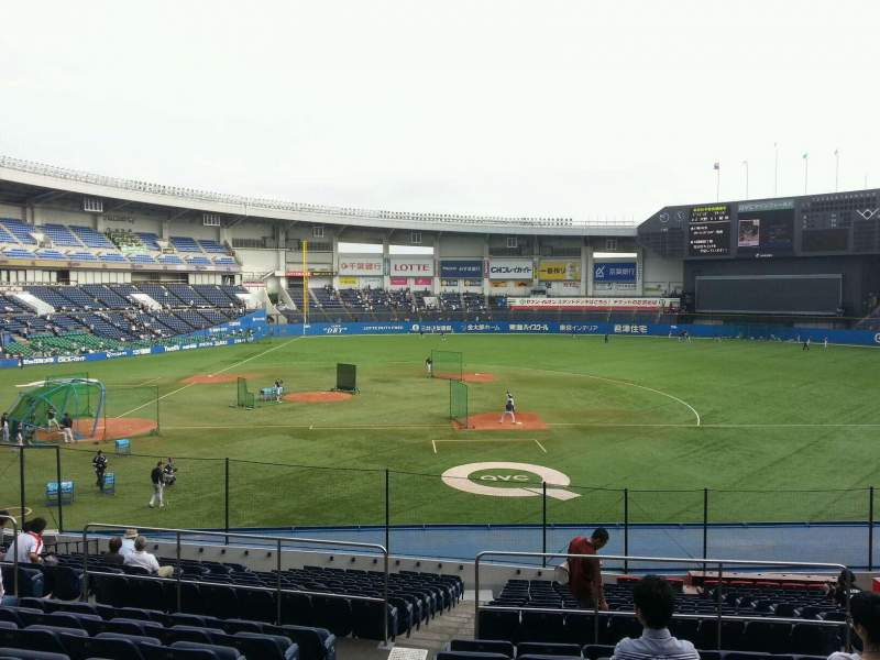 Seating view for QVC Marine Field Section Home Row 22 Seat 92