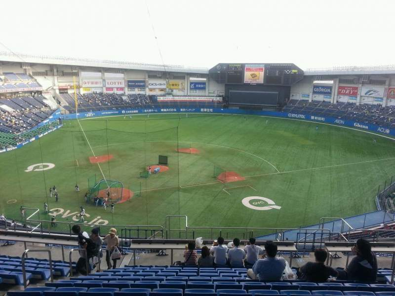 Seating view for QVC Marine Field Section Home Row 51 Seat 106