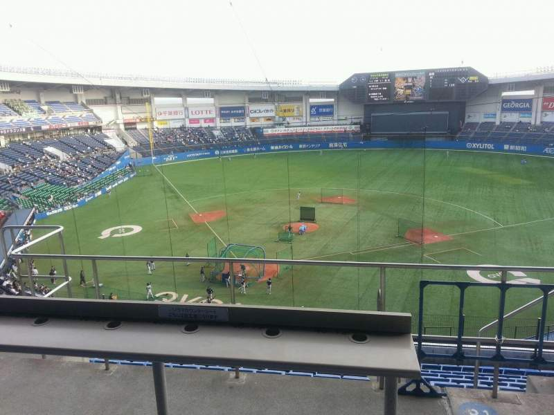 Seating view for QVC Marine Field Section Home Row 42 Seat 72