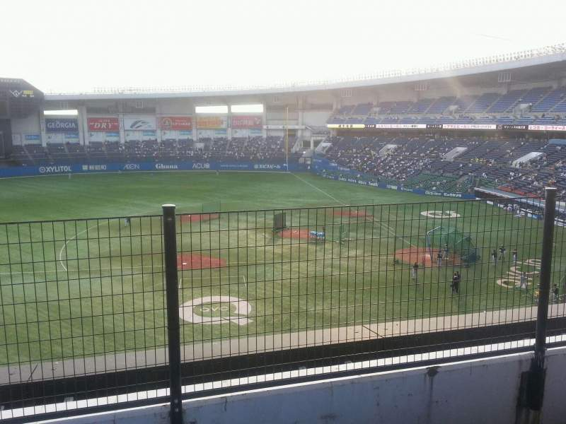 Seating view for QVC Marine Field Section Away Row 32 Seat 204