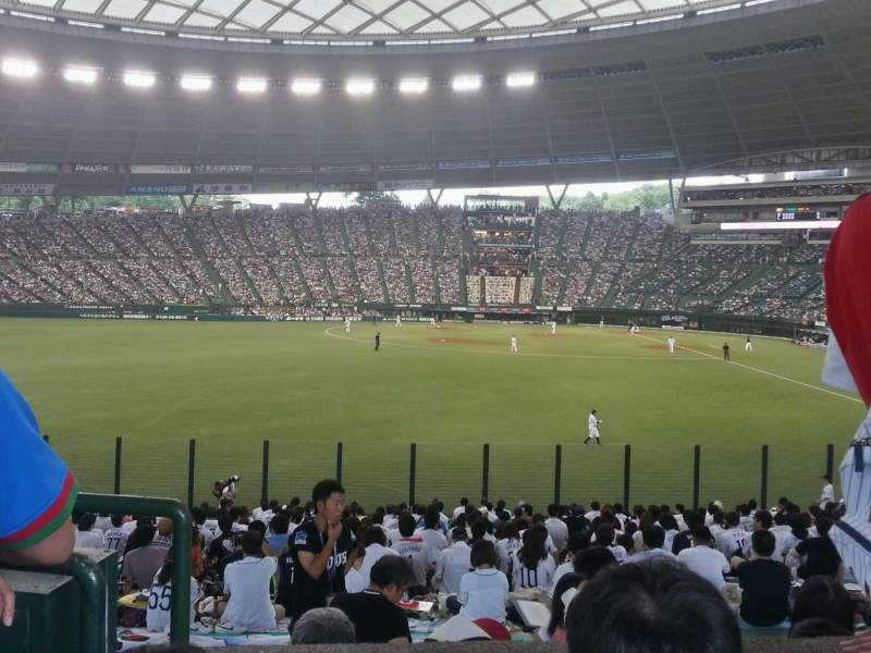 Seating view for Seibu Prince Dome Section Home Supporters
