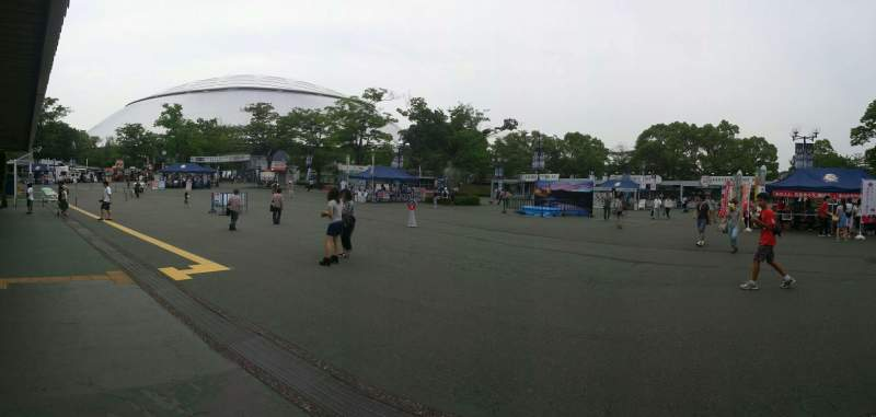 Seating view for Seibu Prince Dome Section Outside