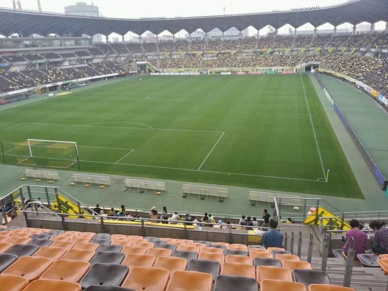 Seating view for Fukuda Denshi ArenaRow 22 Seat 218