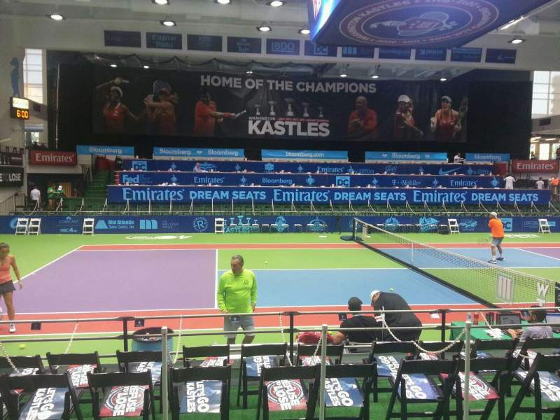 Seating view for Kastles Stadium Section 112 Row c Seat 6