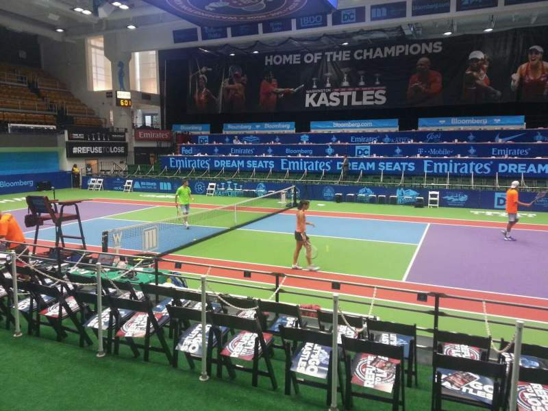 Seating view for Kastles Stadium Section 110 Row c Seat 6