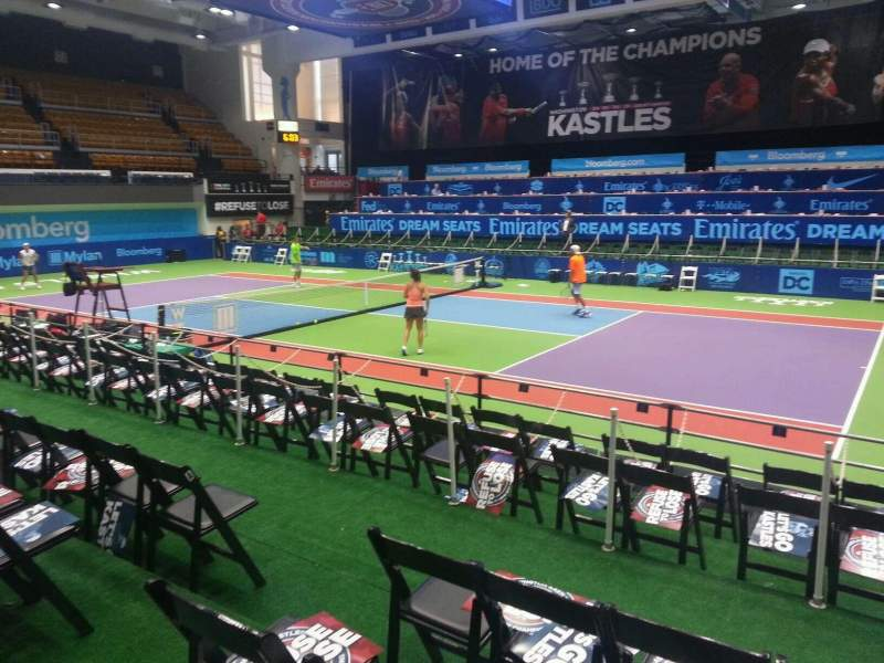 Seating view for Kastles Stadium Section 109 Row d Seat 5