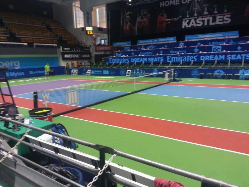 Seating view for Kastles Stadium Section box 40 Row 2
