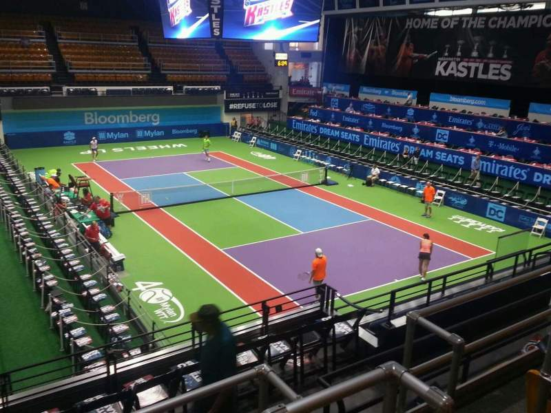 Seating view for Kastles Stadium Section 211 Row d Seat 5