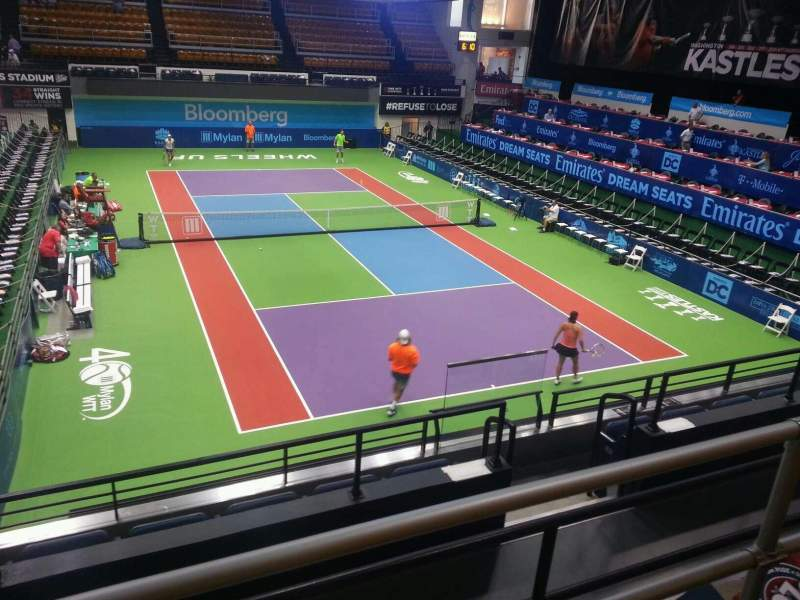 Seating view for Kastles Stadium Section 210 Row b Seat 8