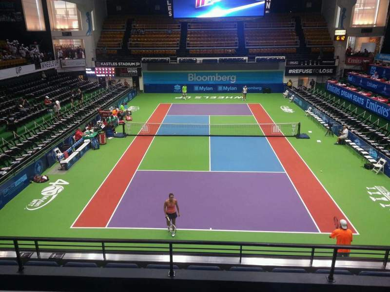 Seating view for Kastles Stadium Section 209 Row c Seat 9