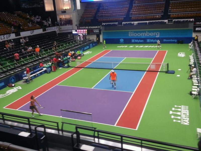 Seating view for Kastles Stadium Section 207 Row c Seat 9