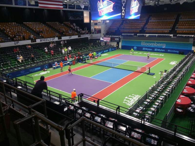 Seating view for Kastles Stadium Section 207 Row d Seat 4