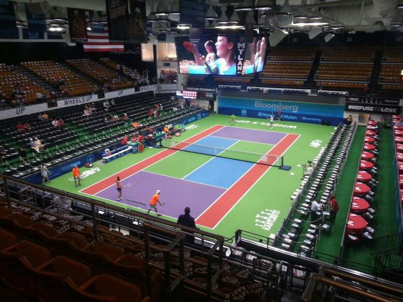 Seating view for Kastles Stadium Section 207 Row j Seat 7