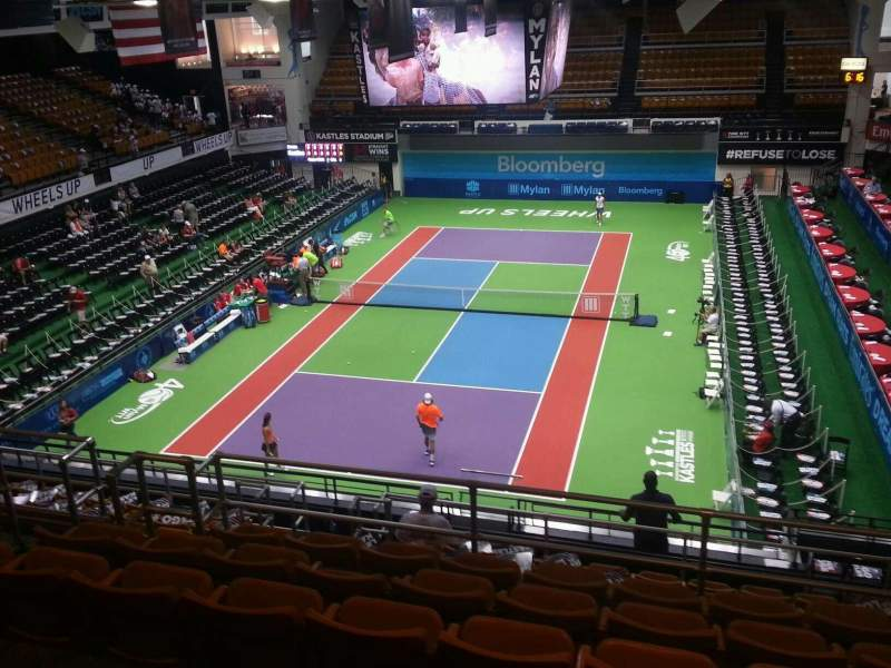Seating view for Kastles Stadium Section 208 Row l Seat 10