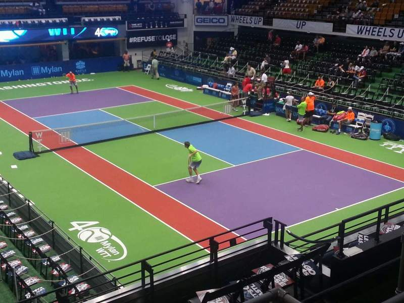Seating view for Kastles Stadium Section 222 Row d Seat 4