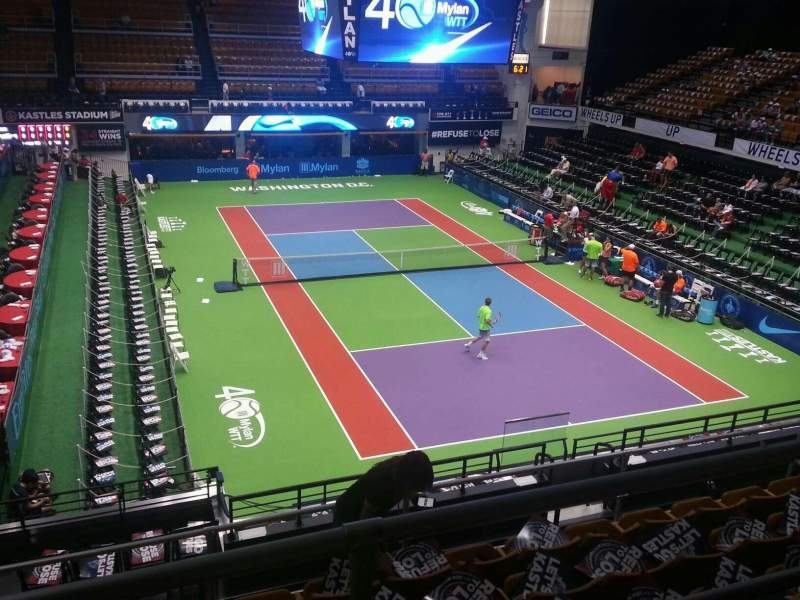 Seating view for Kastles Stadium Section 221 Row g Seat 12