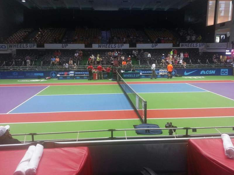 Seating view for Kastles Stadium Section table 7