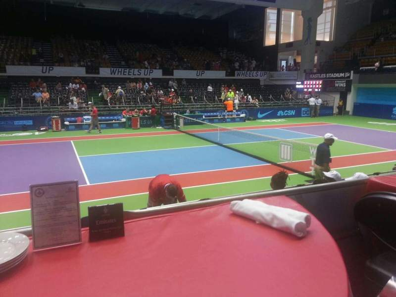 Seating view for Kastles Stadium Section table 9