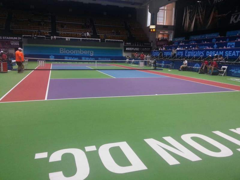 Seating view for Kastles Stadium Section baseline experience