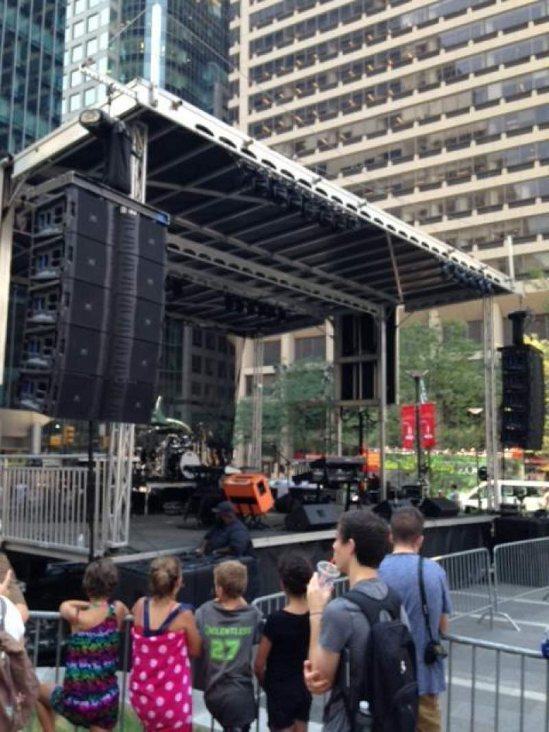 Seating view for Dilworth Park Section GA