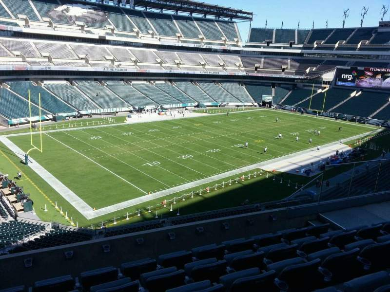 Seating view for Lincoln Financial Field Section c35 Row 11 Seat 10