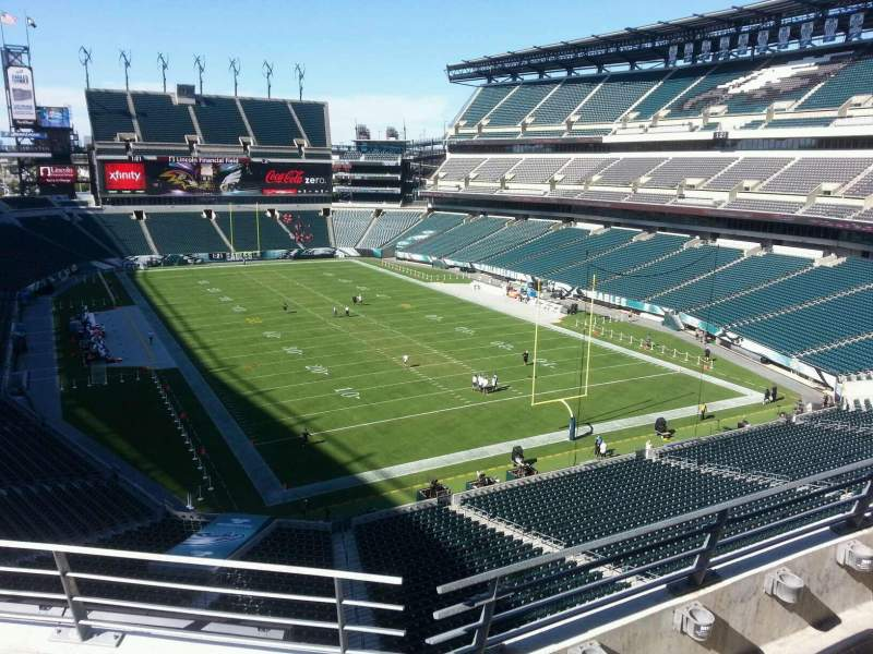 Seating view for Lincoln Financial Field Section m9 Row 15 Seat 13