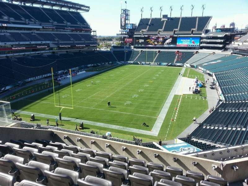 Seating view for Lincoln Financial Field Section m13 Row 12 Seat 15
