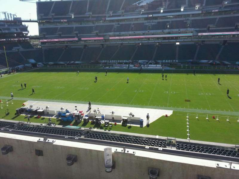 Seating view for Lincoln Financial Field Section c23 Row 3 Seat 13