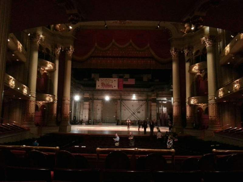 Academy of Music, section: Parquet Circle E, row: w, seat: 108